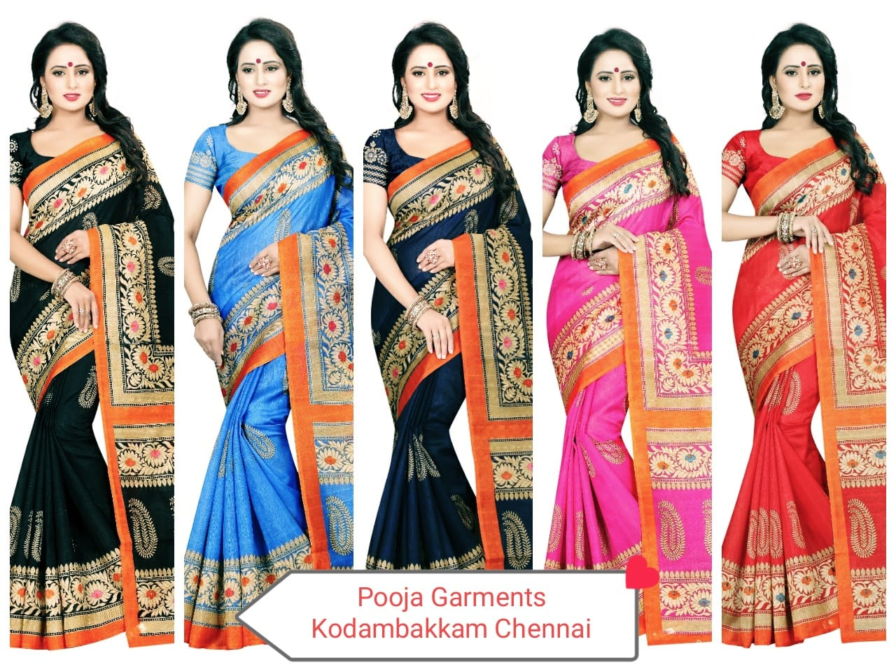 buy online georgette sarees in chennai